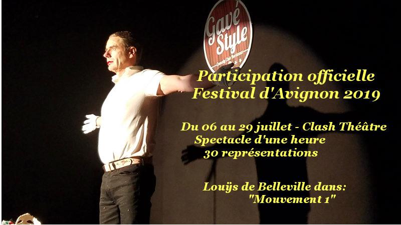 Festival d'Avignon du 6 au 29 juillet 2019, Spectacle Mouvement 1