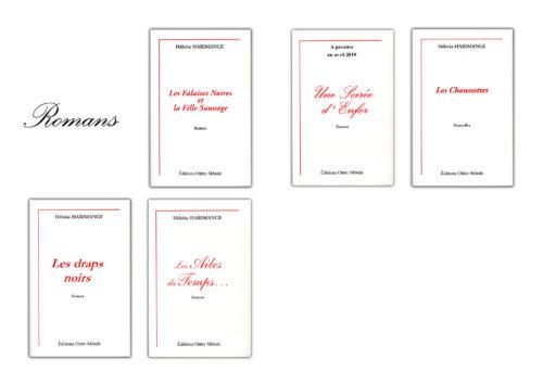les romans d'Héloise Harimange