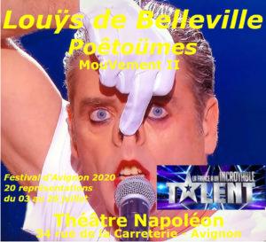 Festival d'Avignon 2020 @ Théâtre Napoléon (Mouvement II)